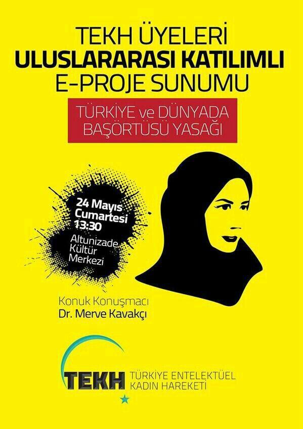 Türkiye Entellektüel Kadın Hareketi 2. Tesettür Mühendisliği Panelini Açıyor