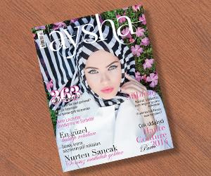 Aysha Dergi Ağustos Sayısı Raflarda!
