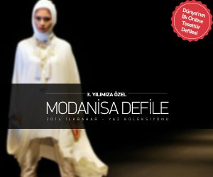 Dünyanın İlk Online Tesettür Defilesi Modanisa ile Türkiye'de