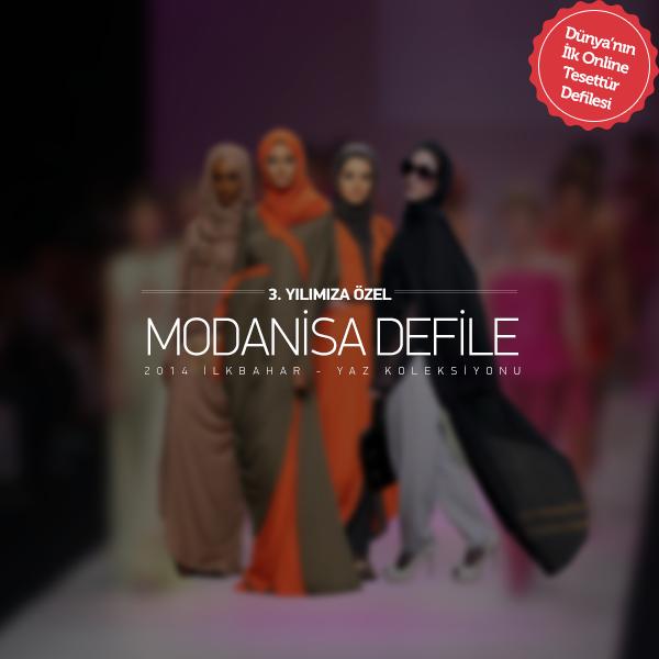 Modanisa Defile Videosu Artık Tesetturgiyim.com'da!