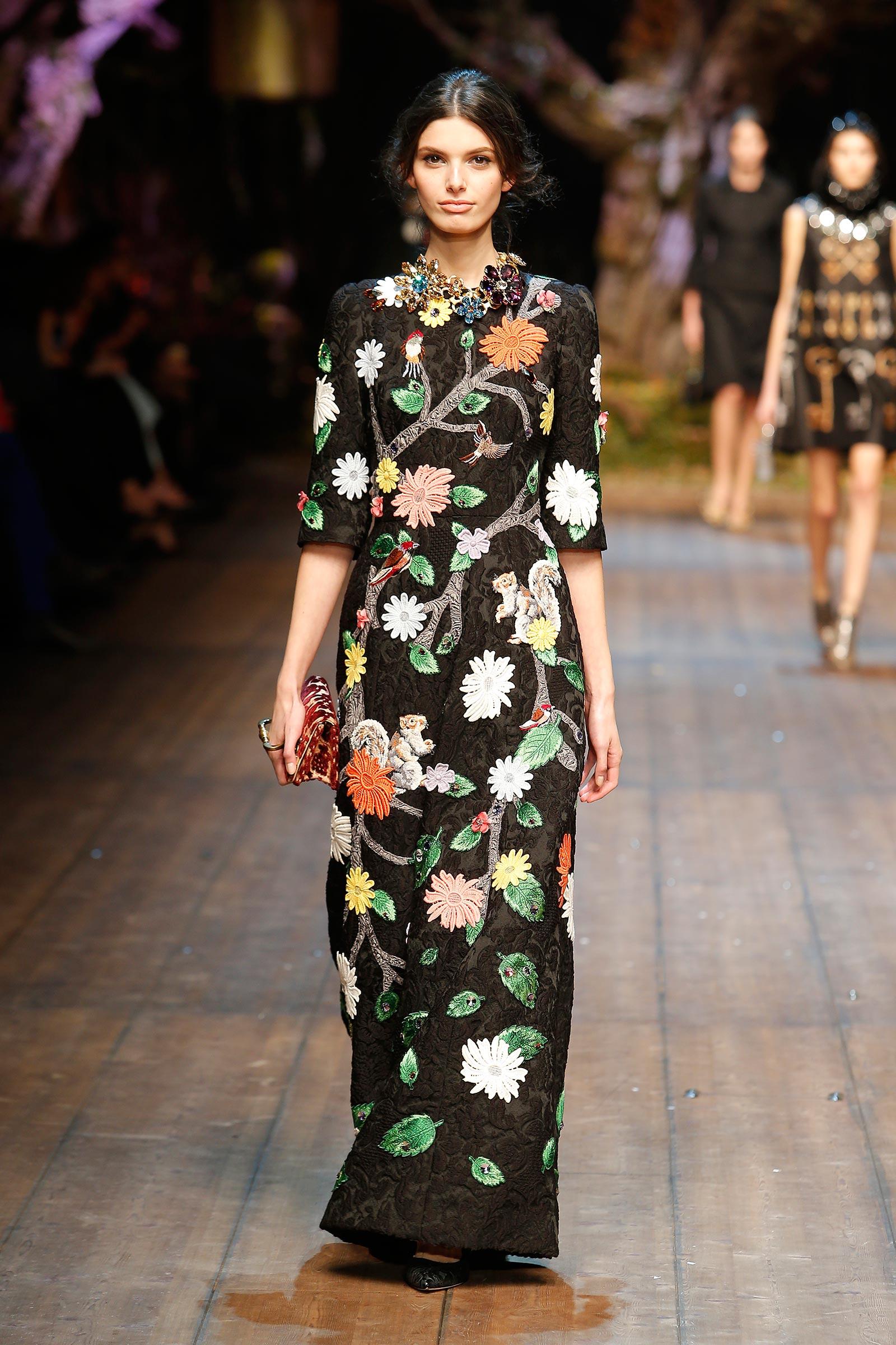 Dolce&Gabbana 2014'15 Sonbahar Kış Koleksiyonu