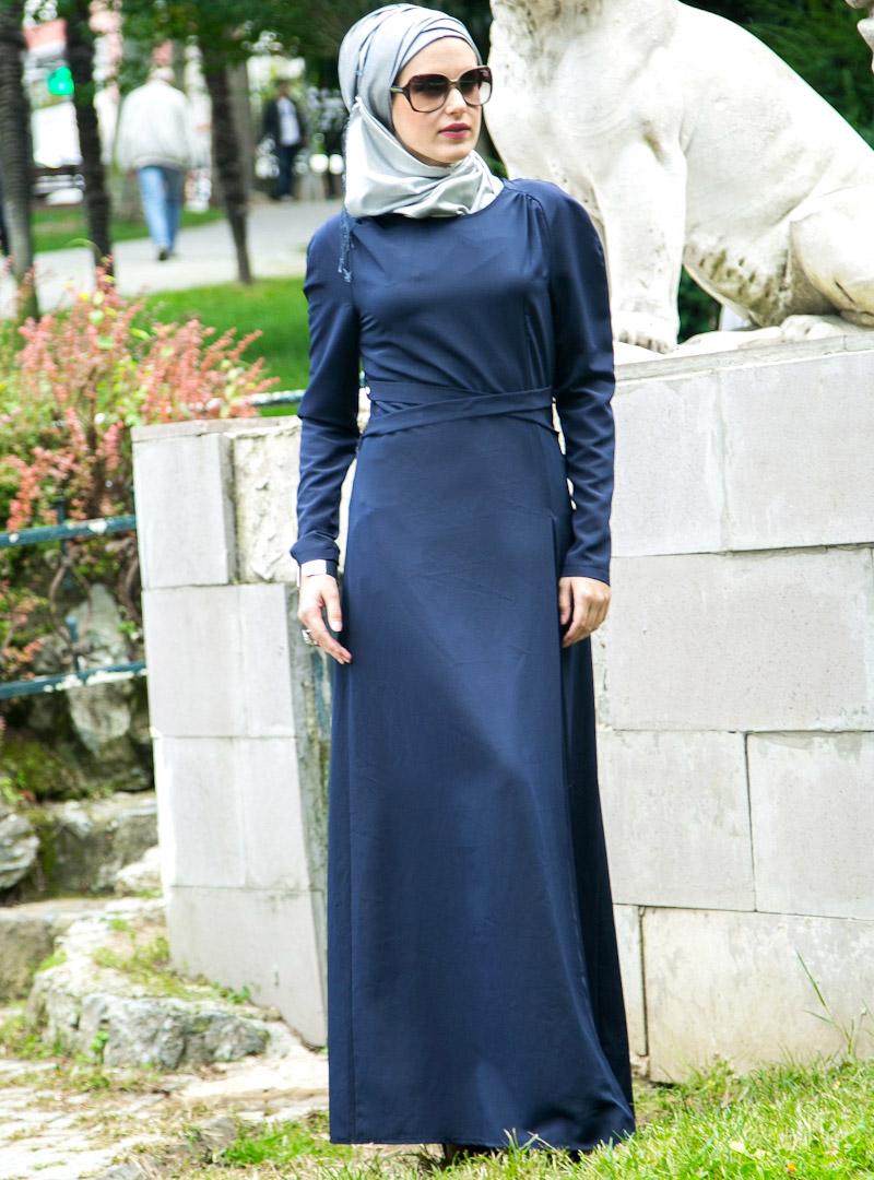pileli-elbise-lacivert-mood-88986-3