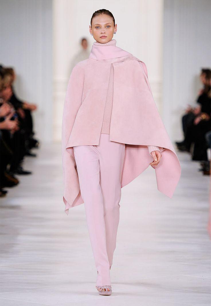 Ralph Lauren Collection Fall 2014 runway