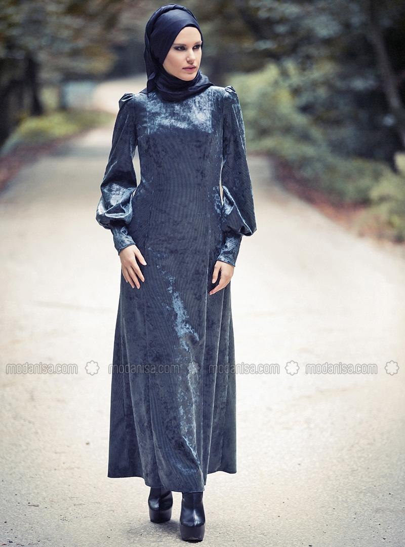 z-deri-gorunumlu-kadife-elbise--haki-yesil--mustafa-dikmen-92647-1
