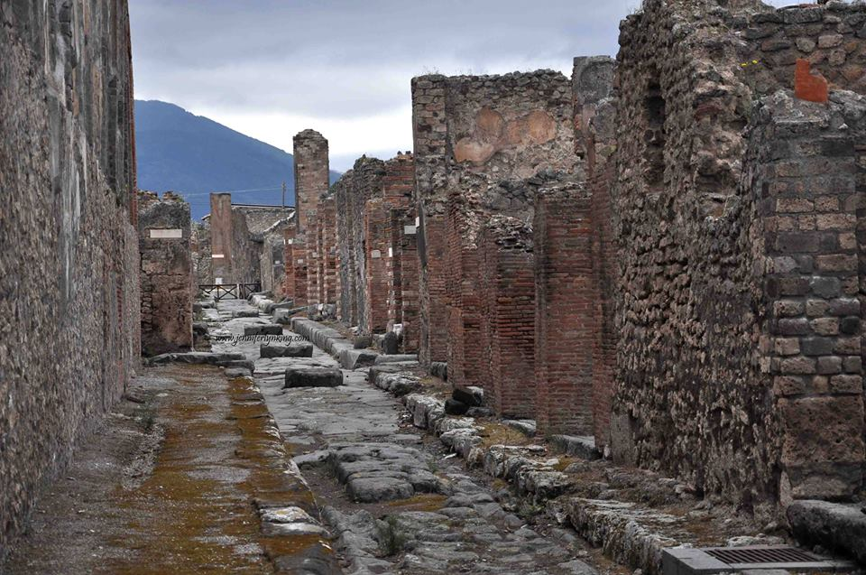 Pompeii şehri...