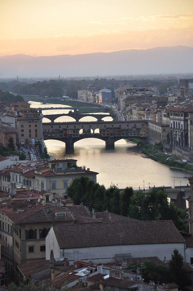 Floransa'da gün batımı