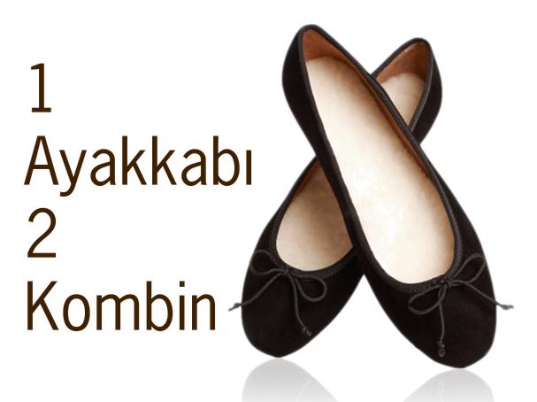 1 Ayakkabı 2 Kombin