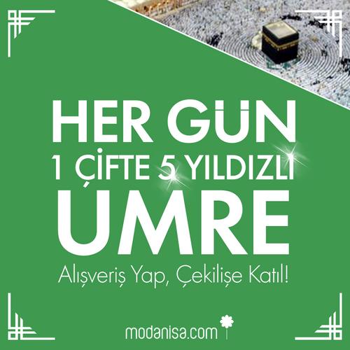 Ramazan Boyunca Her Gün 1 Çifte 5 Yıldızlı Umre!