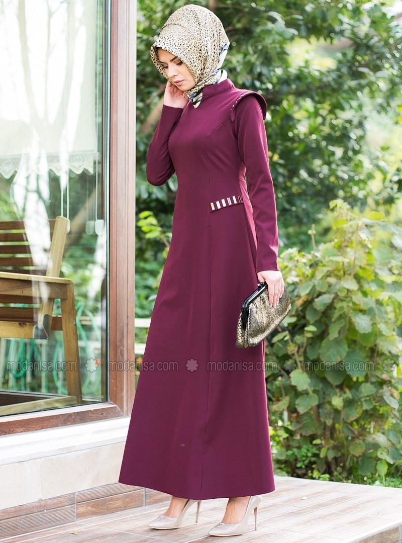 z-metal-detayli-elbise--bordo--refka-87259-1