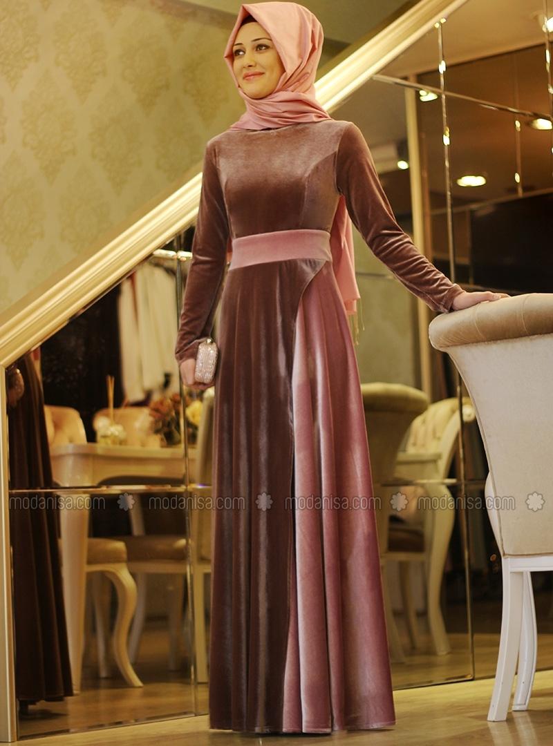 z-sura-kadife-elbise--pudra-vizon--gamze-polat-100509-3