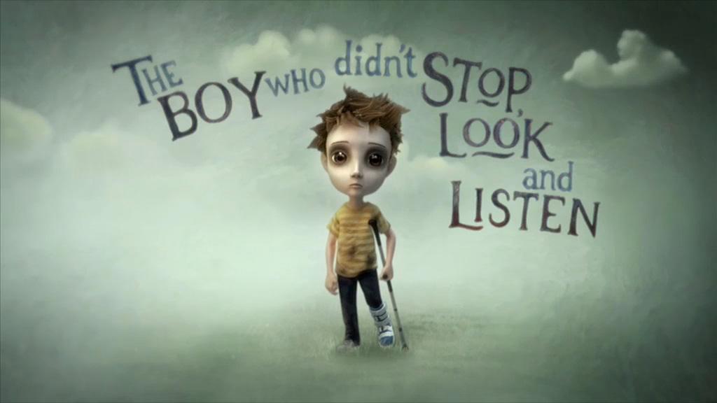 Dur,Bak, Düşün, Dİnle yöntemini uygulamamış bir çocuk :)
