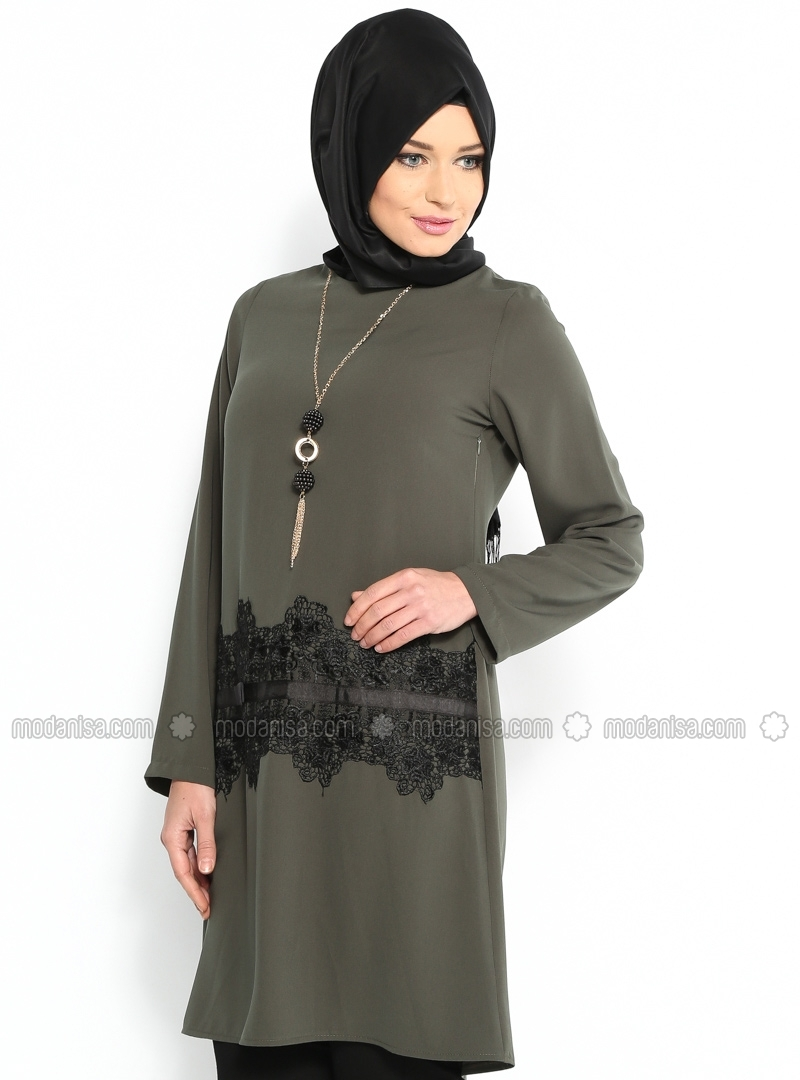 z-dantelli-tunik--haki--cml-collection-106680-2