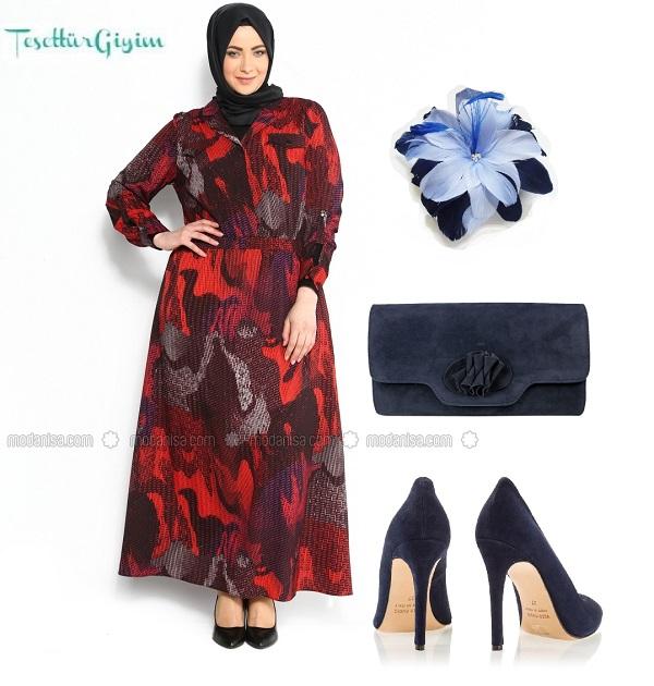 z-desenli-elbise--bordo--vigane-106046-1