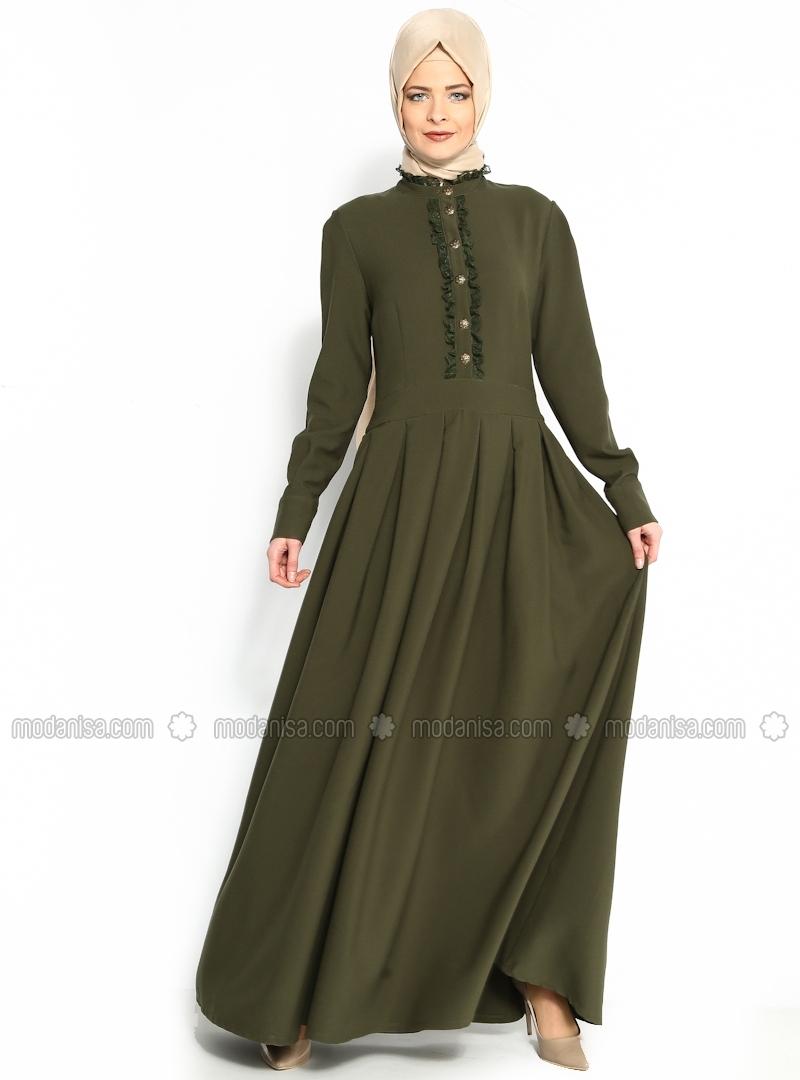 z-gupur-suslemeli-elbise--haki--efruz-giyim-105909-2