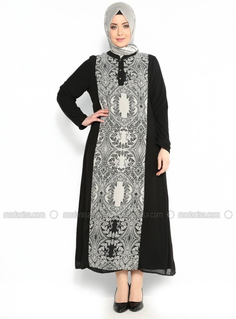 z-sal-desen-tasli-sifon-elbise--siyahbeyaz--mor-menekse-105544-1
