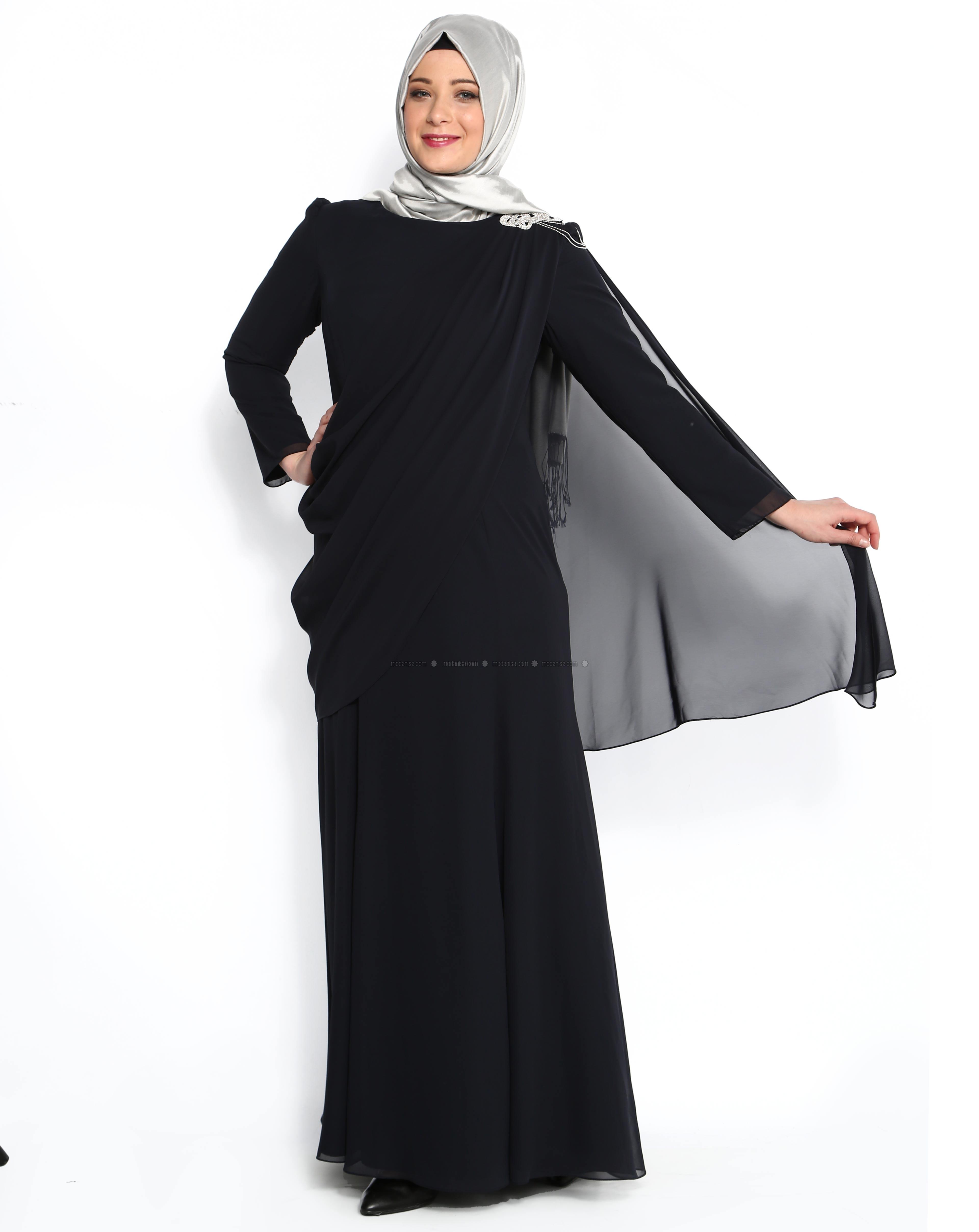 z-uzeri-tul-detayli-omuzu-tasli-elbise--lacivert--nurla-abiye-95073-1