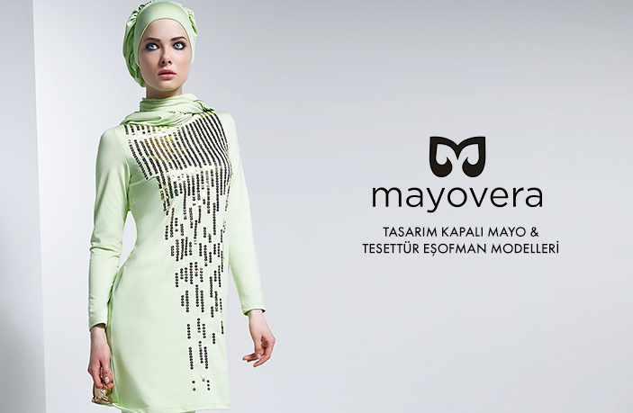 Mayovera 2015 Tesettür Mayo Modelleri