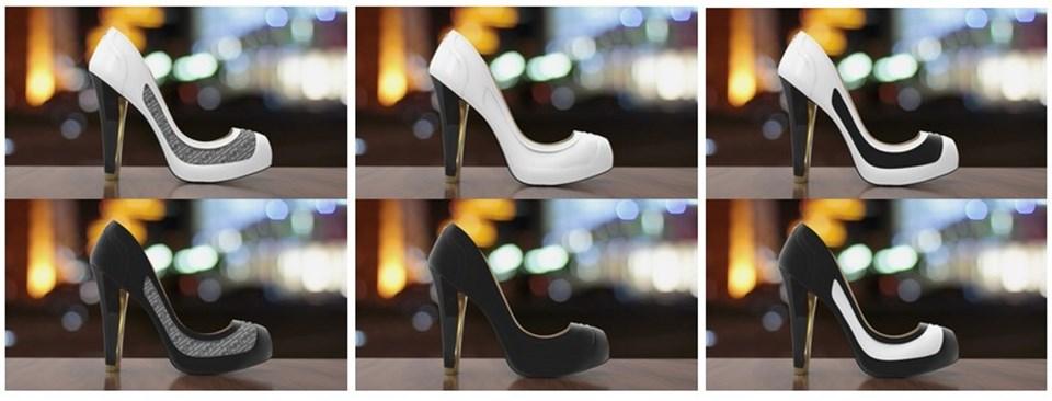 Renk Değiştiren Ayakkabı!