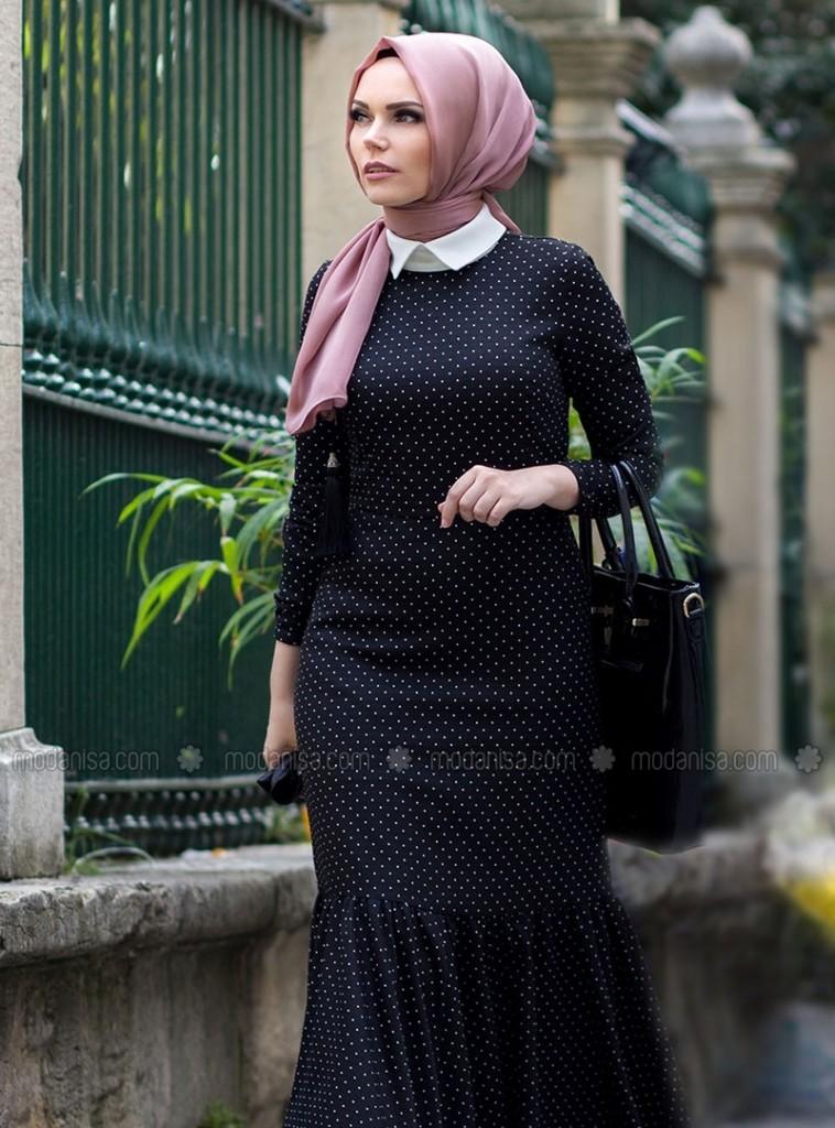 z-puanli-elbise--siyah-beyaz--muslima-wear-100693-1