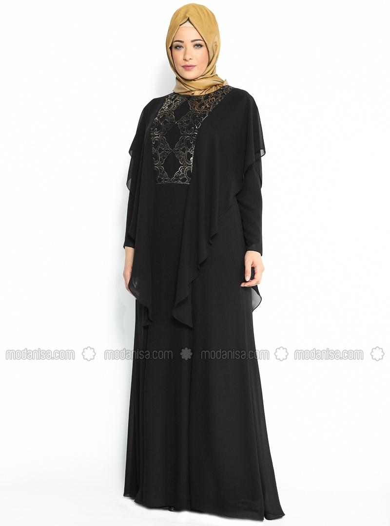 z-uzeri-tul-suslemeli-abiye-elbise--siyah--nurla-abiye-89158-2