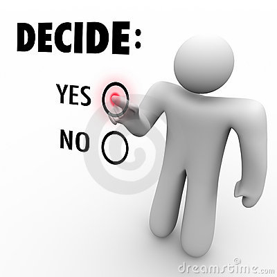 karar ver!