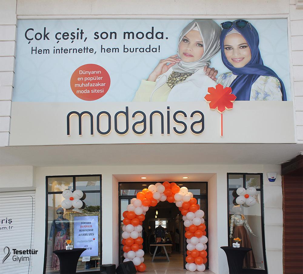 İlk Modanisa Deneyim Mağazası Açıldı!