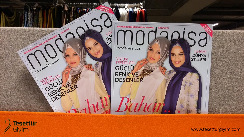 Modanisa Dergi 2015 Mayıs Sayısı Çıktı!