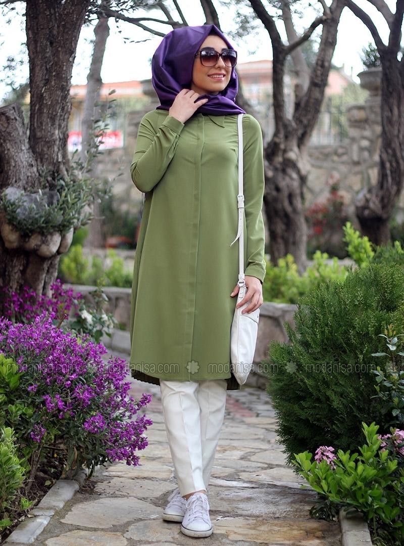 Yeşilin Her Tonu ile Mevra Tesettür Giyim