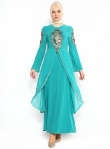 ispanyol-kollu-abiye-elbise--yesil--burun-106974-1