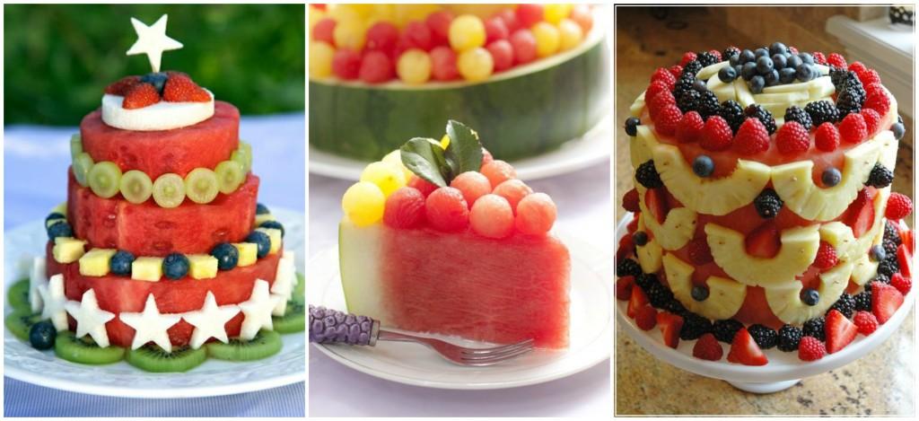 meyve pastası