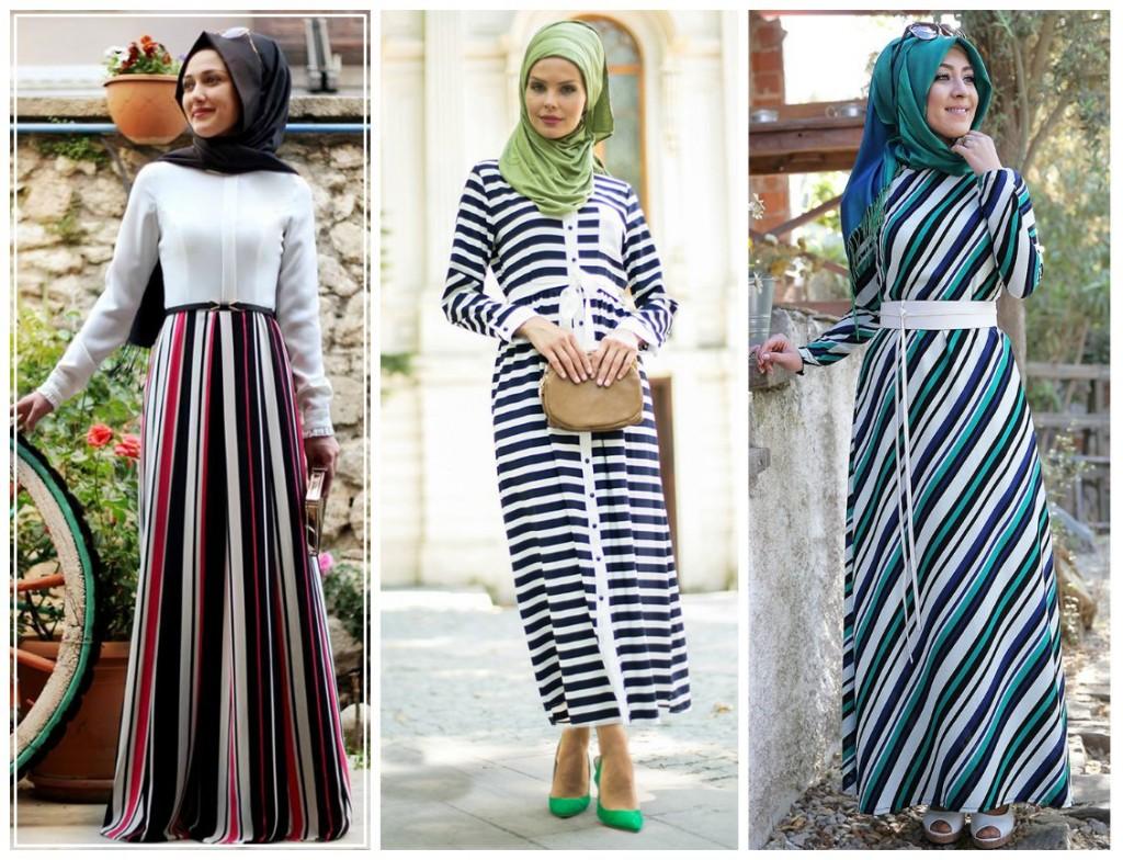 8a41aa3bac302 2015-2016 Sonbahar Kış Tesettür Elbise Modelleri   Tesettür Giyim Blog