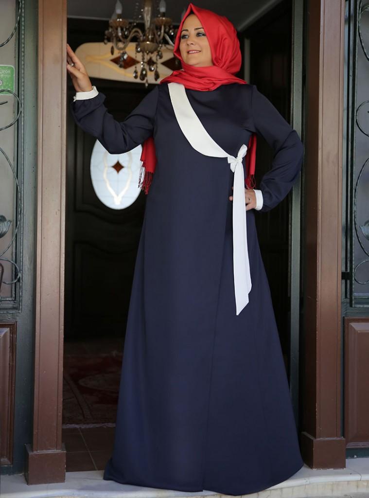 anvelop-elbise--lacivert--beyaz--saliha-154327-1