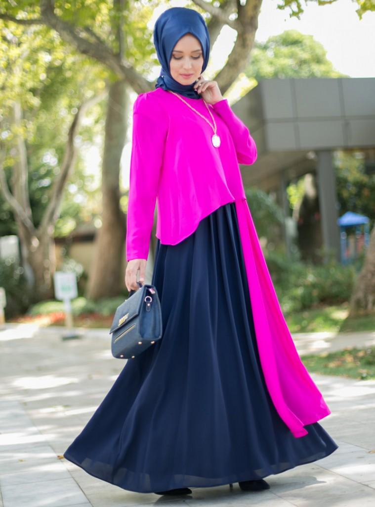 cift-renkli-elbise-lacivert-fusya--puane-149225-4