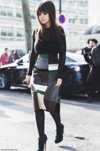 Paris_Fashion_Week-Fall_Winter_2015-Street_Style-PFW-Misorlava_Duma-Pencil_Suede_Skirt-PatchWork-3-790x1185