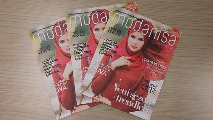Modanisa Dergi 2015 Ekim Sayısı Çıktı
