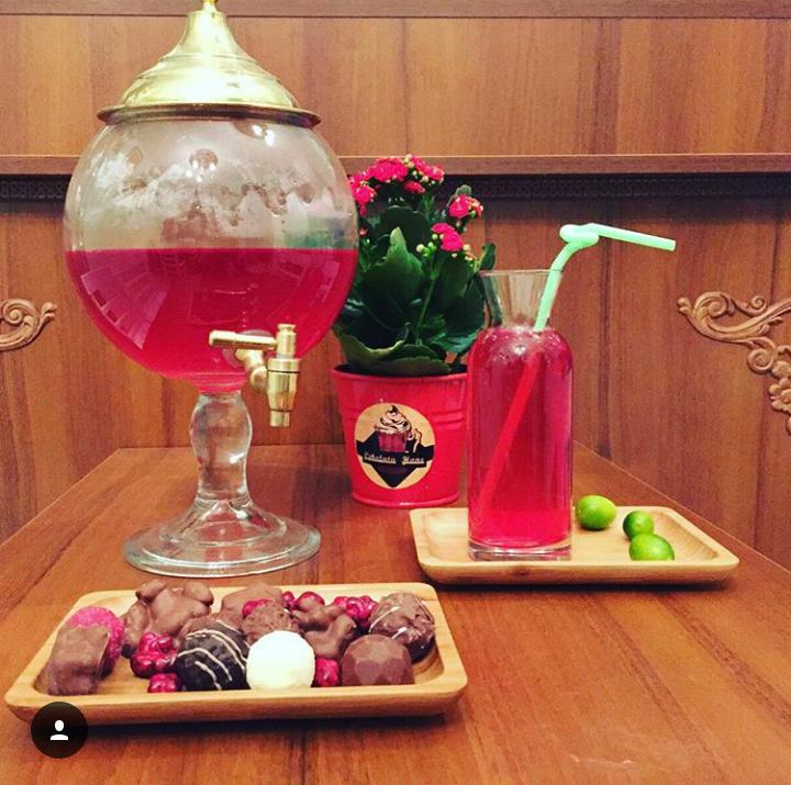 Çikolatahane osmanlı çileği şerbeti