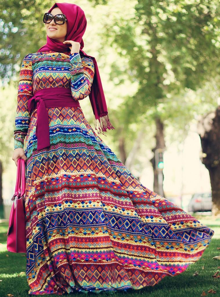 etnik-elbise--karisik-desenli--minel-ask-80362