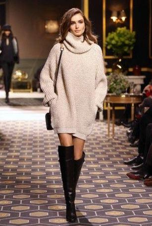 kışlık-triko-elbise-modelleri-2016
