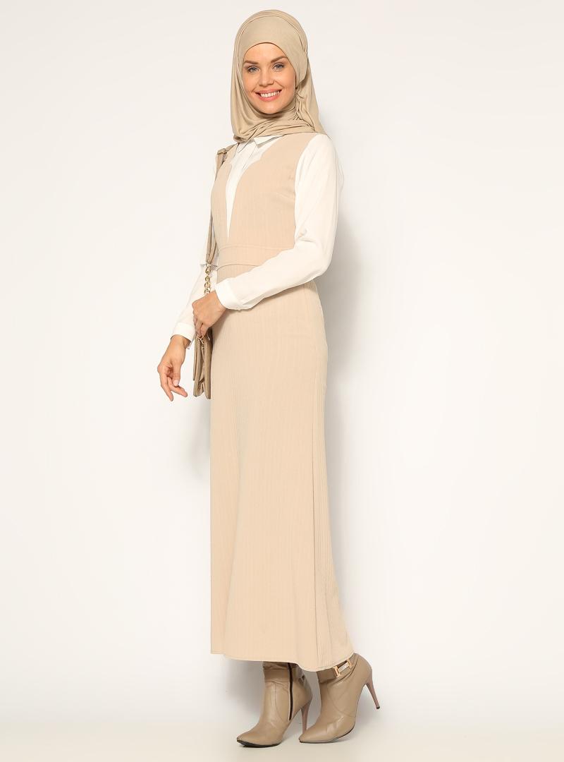 klasik-elbise--bej-ekru--neways-160337-1