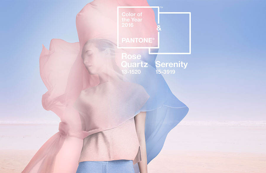 2016'nın Renkleri Serenity ve Rose Quartz