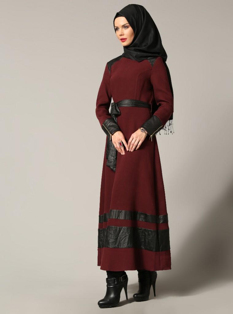 deri-detayli-elbise--bordo--refka-158882-158882-2