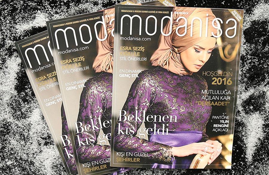 Modanisa Dergi 2016 Ocak Sayısı Çıktı!