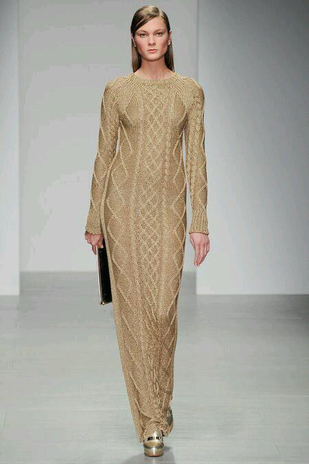 Daks Gold elbise