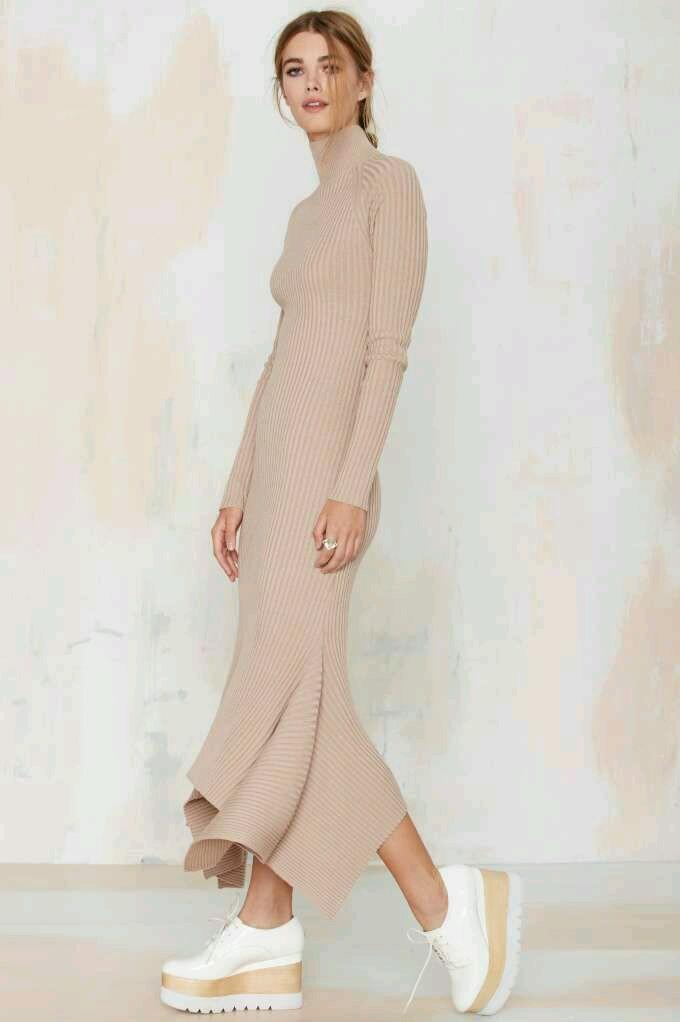 Nasty gal Balikci yaka elbise (1)
