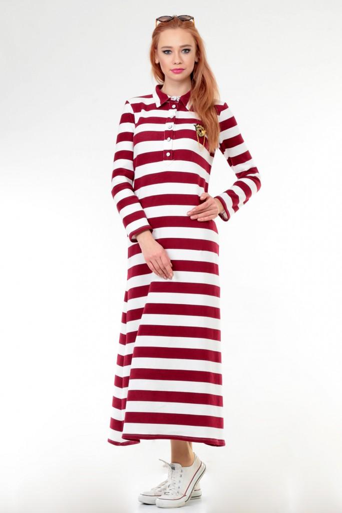armali-marin-lacoste-elbise--bordo--dide-178904-1