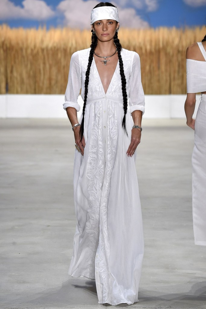 Mara hoffman elbise