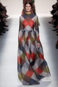 Valentino patchwork elbise