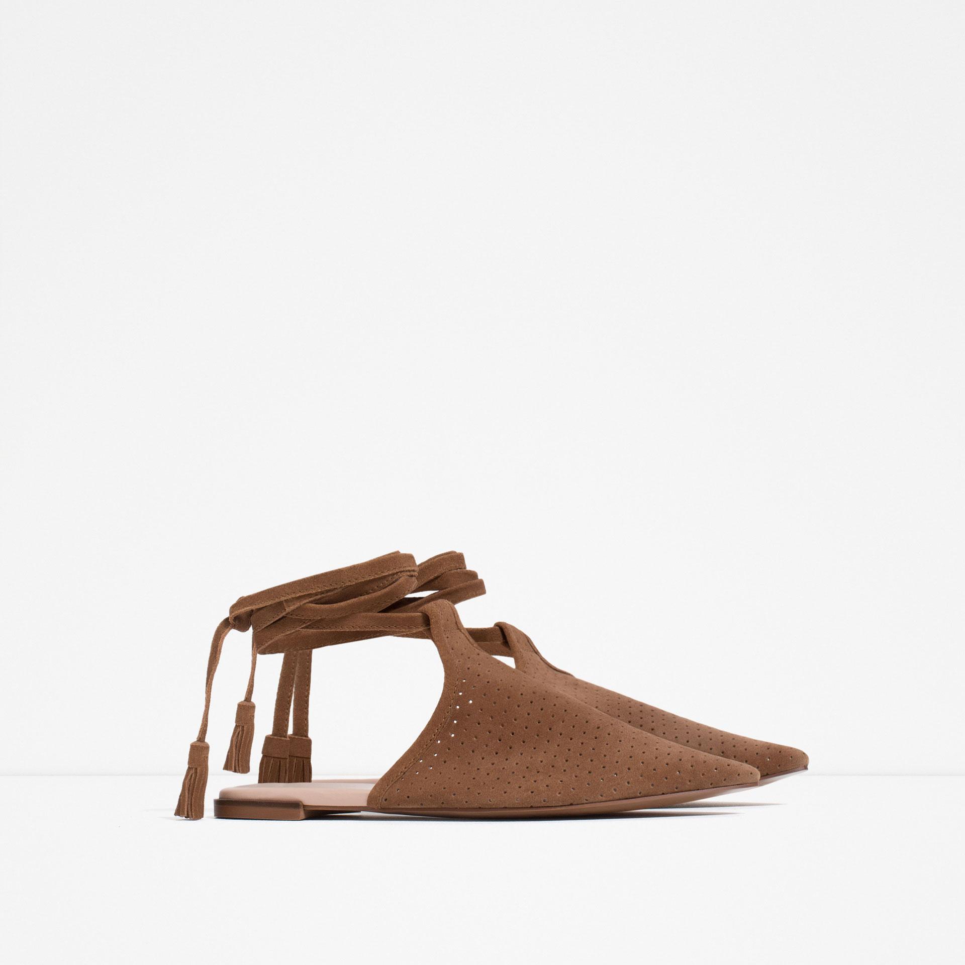 Tarz ayakkabı zara 7