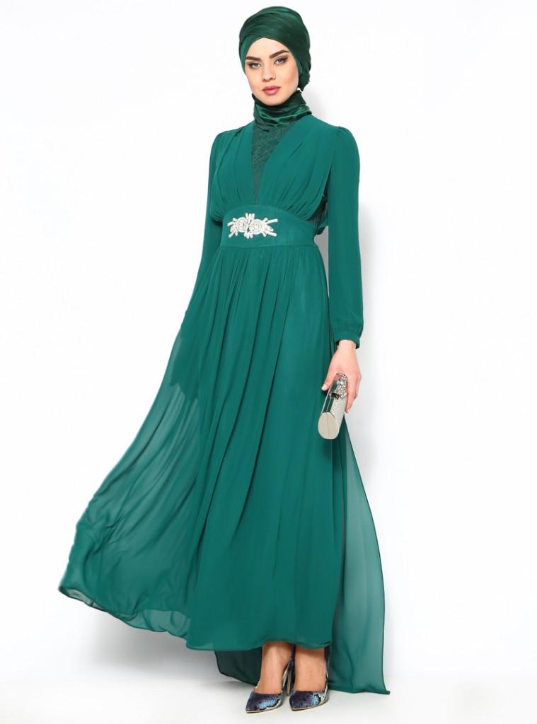 beli-tasli-abiye-elbise-yesil--puane-107287-8