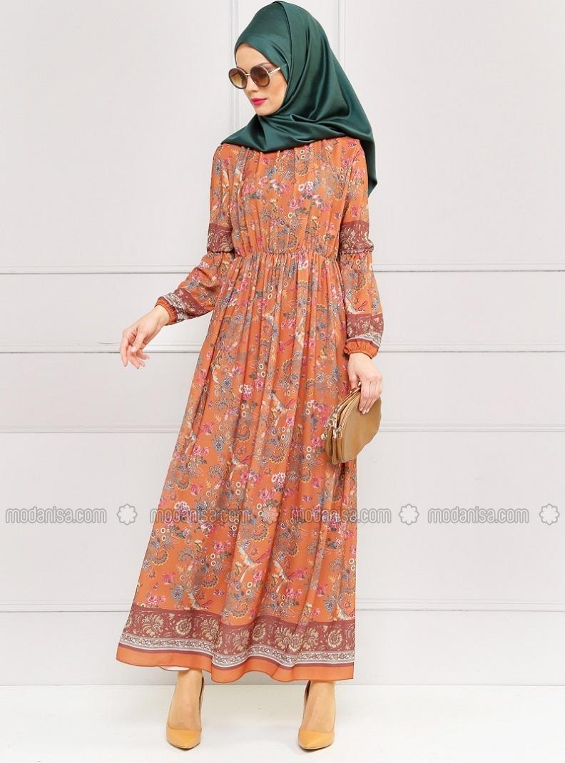 z-cicekli-elbise--kiremit--refka-180148-1